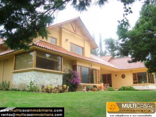 MULTICASA INMOBILIARIA Vende casa residencial y exclusiva en Challuabamba $320000 Cuenca - Ecuador