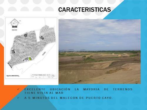 INCREIBLES LOTES UBICADOS EN PUERTO CAYO