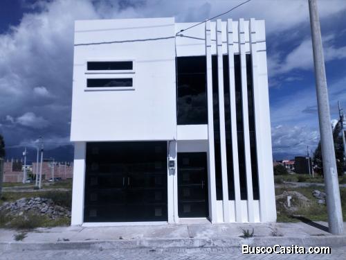 Vendo casa por Estrenar sector Ciudad Balboa