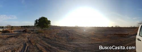 Venta de terreno en Manta, vía circunvalación (tramo II)