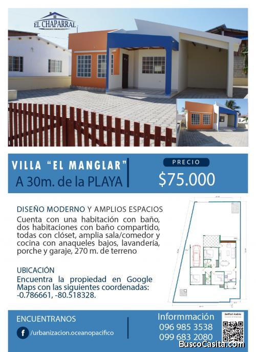 Villa en la Playa de San Jacinto