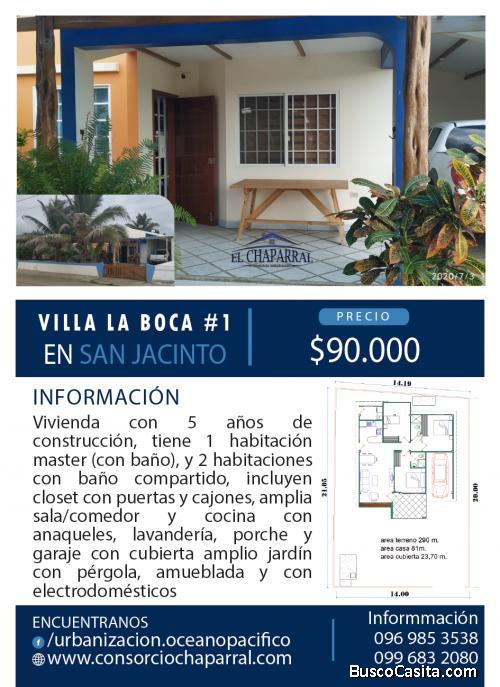 Villa en la Playa de San Jacinto - Amueblada