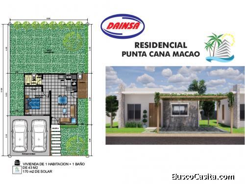 Casas individuales en Punta Cana - Macao al alcance de tu presupuesto