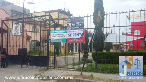 Casa en renta en el fraccionamiento San Buenaventura, Ixtapaluca