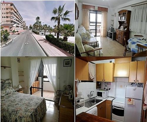 Piso 3 dormitorios con vistas panoramicas frente al mar Torrevieja