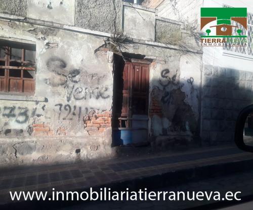 SE VENDE TERRENO PEQUEÑO EN EL CENTRO DE OTAVALO