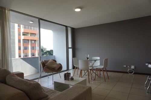 Apartamento amueblado, Zona 9