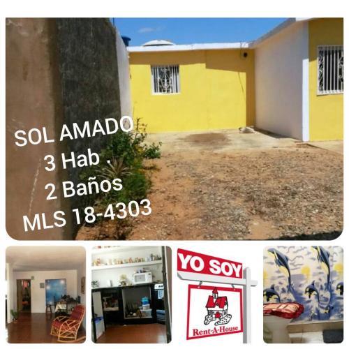 MANUEL DEPABLOS TE VENDE CASA EN EL SOLER MLS184303