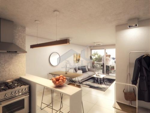 A ESTRENAR: Un dormitorio con dos balcones en Barrio Sur - AP 338 B