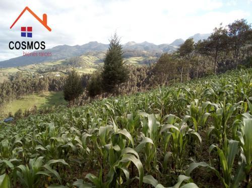 Venta de terreno en Otavalo para casa de campo