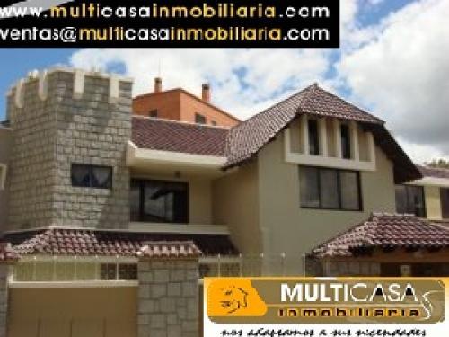 Venta de hermosa casa a crédito sector Rio Sol Cuenca