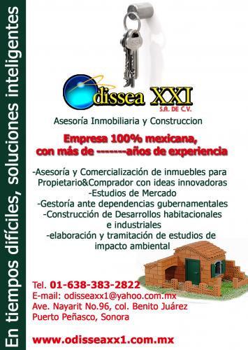 Inmobiliaria ODISSEA XX1, S.A. DE C.V.