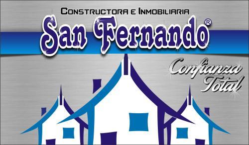 Inmobiliaria CONSTRUCTORA E INMOBILIARIA SAN FERNANDO