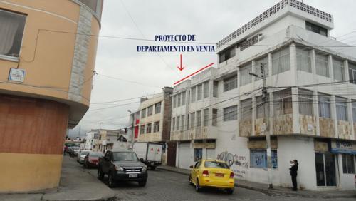 Vendo proyecto de departamento en Ibarra