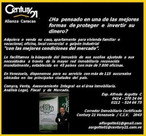 Inmobiliaria Century21 Alianza Caracas