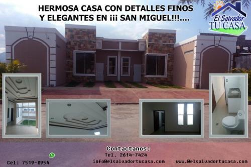 BONITA, HERMOSA CASA CON DETALLES FINOS Y ELEGANTES ¡ EN VENTA!!! EN METROPOLIS KURY SAN MIGUEL
