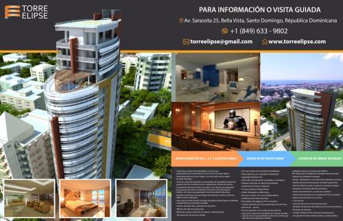 Venta de apartamentos de lujo de 1, 2 y 3 Habitaciones desde U$168,000